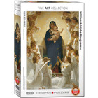Eurographics Puzzles . EGP Virgin with Angels - 1000pc Puzzle Calgary