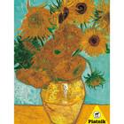 Piatnik Puzzles . PIA Sunflower, Van Gogh Puzzle 1000pc Painting Flowers Calgary
