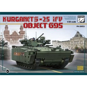Panda Models . PDA 1/35 Kurganet-25 IFV Object 695 Russian Infantry Fighting Vehicle
