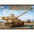 Panda Models . PDA 1/35 M109A7 Paladin Self Propelled Howitzer w/Metal Tracks
