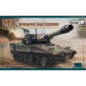 Panda Models . PDA 1/35 M8 Armoured Gun System Light Tank