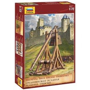 Zvezda Models . ZVE 1/72 Trubuchet Medieval Siege Engine