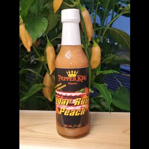 Pepper King . PPK Pepper King Sugar Rush Peach Hot Sauce 150ml