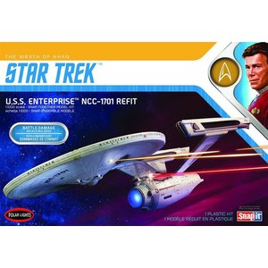 Polar Lights . PLL 1/1000 USS Enterprise Refit Wrath Of Khan