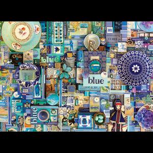 Cobble Hill . CBH Blue 1000pc Puzzle