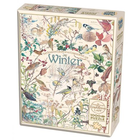 Cobble Hill . CBH Country Diary: Winter 1000pc Puzzle Birds Plants Animals Winter Calgary