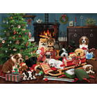 Cobble Hill . CBH Christmas Puppies - 1000pc Puzzle Calgary