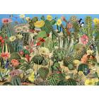 Cobble Hill . CBH Cactus Garden - 1000pc Puzzle Calgary Birds Nature