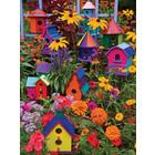 Cobble Hill . CBH Birdhouses - 275pc Puzzle Nature Flowers Calgary