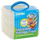 Perler (beads) PRL Square Stackable Storage