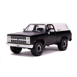 "Jada Toys . JAD 1/24 ""Just Trucks"" 1980 Chevy K5 Blazer Off Road - Black"