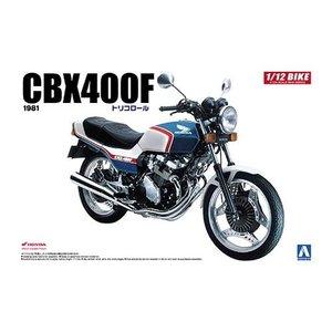 Aoshima . AOS 1/12 Honda CBX400F