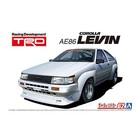 Aoshima . AOS 1/24 TRD AE86 Corolla Levin '83