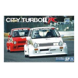 Aoshima . AOS 1/24 Honda AA City Turbo '85