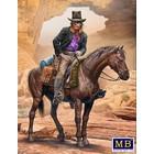 Masterbox Models . MTB Outlaw.Gunslinger Series Kit 2 Gentleman Jim