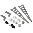 strc Gun Metal Wheelie Bar Kit For DR10/Slash