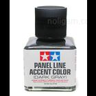 Tamiya America Inc. . TAM Panel Accent Color Dark Gray