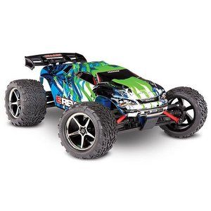 Traxxas Corp . TRA Traxxas E-Revo 1/16 4WD Brushed RTR Truck Green