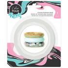 American Crafts . AMC Facet Bangle Bracelet - Color Pour Mold