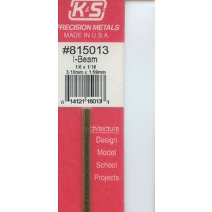 K&S Engineering . KSE 1/8X1/16 I Beam 12