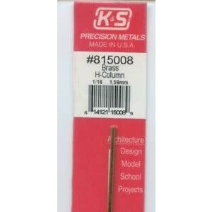 K&S Engineering . KSE 1/16 H COLUMN 12''''