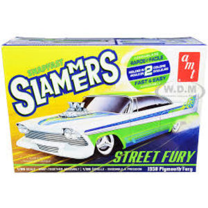 AMT\ERTL\Racing Champions.AMT 1/25 '58 Plymouth Street Fury Slammer ( Snap)