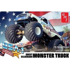 AMT\ERTL\Racing Champions.AMT 1/25 USA-1 Chevy Silverado Monster Truck