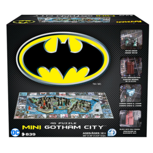 4D Cityscape . 4DC 4D mini Gotham City (Batman)