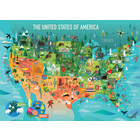 Cobble Hill . CBH United States of America 350pc Puzzle Hobby Calgary