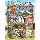 Cobble Hill . CBH Birds of the World 350pc Puzzle  Birds Calgary