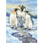 Cobble Hill . CBH Penguin Family 350pc Puzzle