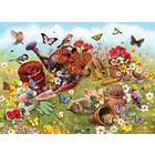 Cobble Hill . CBH Garden Scene 350pc Puzzle
