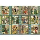 Cobble Hill . CBH Jardiniere: A Gardener's Calendar 1000pc Puzzle