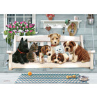 Cobble Hill . CBH Porch Pals 350pc Puzzle Calgary Dogs And Cats