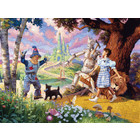 Cobble Hill . CBH The Wizzard Of Oz Puzzle 350pc (Family Pieces)