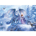 Cobble Hill . CBH Ice Dragon Puzzle (Family)
