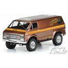 "Pro Line Racing . PRO Pro-Line 70's Rock Van Clear Body for 12.3"" (313mm) Wheelbase Scale Crawlers"
