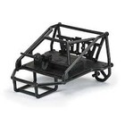 Pro Line Racing . PRO PRO-LINE BACK-HALF CAGE FOR PRO-LINE CAB ONLY CRAWLER BODIES