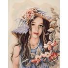 Vervaco . VVC Little Girl With Hat - Diamond Art Flowers Calgary