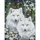 Diamond Dot . DDT Winter Wolves - Diamond Art Nature Animals Calgary