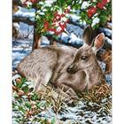 Diamond Dot . DDT Quiet Moments - Diamond Art Nature Animals Winter Calgary