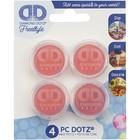 Diamond Dot . DDT Wax Pots 4pc - Freestyle Diamond Art Accessory Calgary