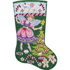 """Bucilla . BUC Sugarplum Fairy Stocking 18"""" - Diamond Art Calgary"""
