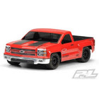 Pro Line Racing . PRO Pro-Line Chevy Silverado Pro-Touring Clear Body for SC trucks