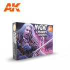 AK INTERACTIVE . AKI AK Interactive Night Creatures Flesh Tones