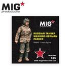 Mig Productions . MIG 1/35 Russian Tanker Wearing German Parka WW2