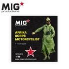 Mig Productions . MIG 1/35 Africa Corps Motorcyclist