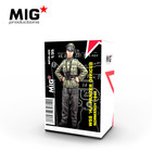 Mig Productions . MIG 1/35 WSS HJ Panzer Officer Normandy 1944
