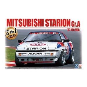 "Aoshima . AOS 1/24 Mitsubishi Starion Gr.A""87JTC"