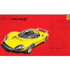 Fujimi Models . FUJ Ferrari Dino 206GT